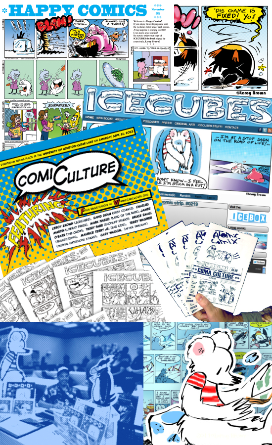 ICECUBES the comic strip - year in review 2013