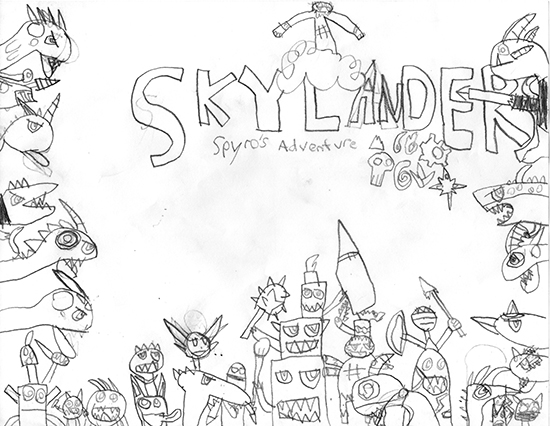 skylanders by apollo