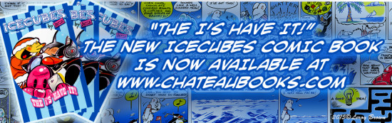 ICECUBES comic book now available