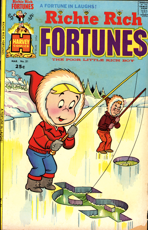 Harvey Comics Richie Rich Fortunes No. 21