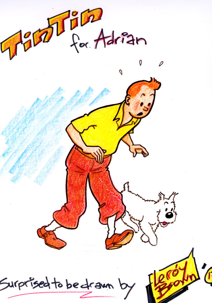 Tintin by Leroy Brown